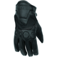 Women's Black Tech Rider Gloves