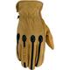 Tan Retro Gloves