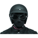 Black Neoprene Half-Face Mask - BB9803