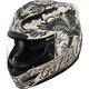 White Airmada Scrawl Helmet