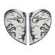 White Airmada Scrawl Side Plates - 0133-0995