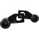 Black Axle Block Slider  - DRAX-118-BK