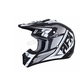 Matte Black/White FX-17 Force Helmet