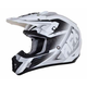 Pearl White/Silver FX-17 Force Helmet