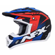 Matte Black/Red/White/Blue FX-17 Holeshot Helmet