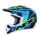 Navy/Green/Blue FX-17 Holeshot Helmet
