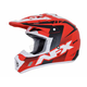 Red/Black/White FX-17 Holeshot Helmet