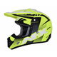 Matte Neon Yellow/Black/White FX-17 Holeshot Helmet