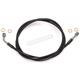 Black XR Stainless Extreme Response Front Brake Line Kit w/o ABS - +4