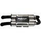 PowerTech4 Dual Slip-On Muffler - AT-9208PT