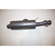 Black Performance Slip-On Muffler - AT 8512P