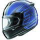Blue Vector 2 El Camino Helmet