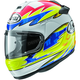 Yellow/Blue Vector 2 Aegerter Helmet