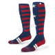 Navy/Red Liberty Moto MX Socks