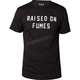 Black Raised on Fumes T-Shirt