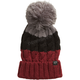 Women's Dark Red Valence Beanie - 20574-208-OS