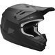 Matte Black/Charcoal Youth Sector Level Helmet