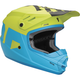 Matte Electric Blue/Lime Youth Sector Level Helmet