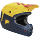Matte Navy/Yellow Youth Sector Level Helmet