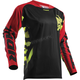 Black/Red/Lime Fuse Rampant Jersey