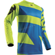 Youth Electric Blue/Lime Pulse Level Jersey