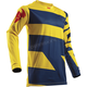 Youth Navy/Yellow Pulse Level Jersey
