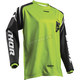Youth Lime Green Sector Zones Jersey
