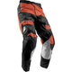 Youth Red Orange/Black Pulse Level Pants