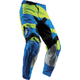 Youth Electric Blue/Lime Pulse Level Pants