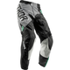 Youth Black/Teal Pulse Geotec Pants