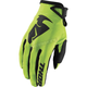 Lime Sector Gloves