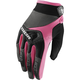 Women's Black/Pink Spectrum Gloves