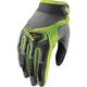 Women's Gray/Lime Spectrum Glove