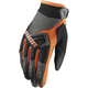 Youth Charcoal/Orange Spectrum Gloves