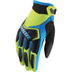 Youth Green/Black/Blue Spectrum Gloves