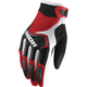 Youth Red/Black/White Spectrum Gloves