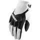 Youth White/Black Spectrum Gloves