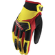 Youth Yellow/Black/Red Spectrum Gloves