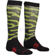 Black/Lime/Red Moto Sub Rampant Socks