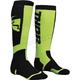 Youth Black/Lime MX Socks - 3431-0383