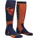 Youth MX Navy/Orange Socks - 3431-0384