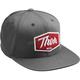 Charcoal Script Snapback Hat - 2501-2768