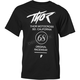 Mens Black Street Tee Shirt