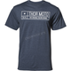 Mens Navy Heather  Establish Tee Shirt