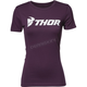 Womens Plum Loud Tee Shirt