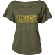 Womens Green Establish Tee Shirt