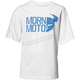 Boys White Modern Tee Shirt