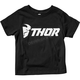 Toddler Black Loud Tee Shirt