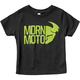 Toddler Black Modern Tee Shirt
