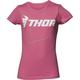 Girls Pink Loud Tee Shirt